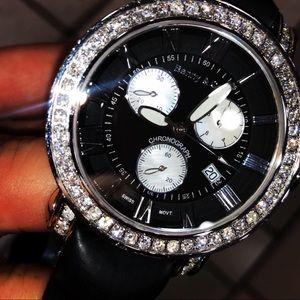 Men's Benny & Co Diamond Watch 5.00 Carats